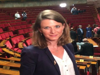 French MP Laurianne Rossi. Image courtesy Twitter @lauriannerossi