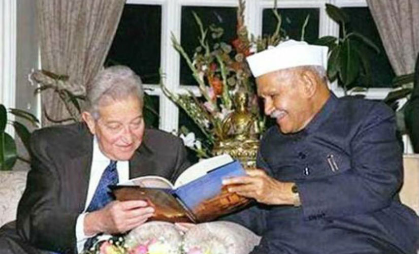 Ezer Weizman became the first Israeli president to visit India in 1997. Image courtesy: Ministry of Foreign Affairs, Israel