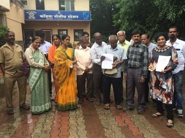 File image of the 11 families who filed the first FIR under Social Boycott Act on 17 July. Varsha Torgalkar