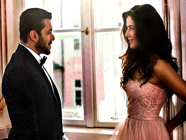 Salman Khan and Katrina Kaif in a still from Tiger Zinda Hai. Twitter