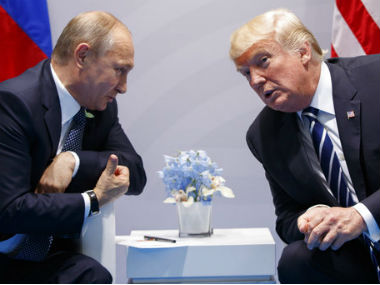 Donald Trump met Vladimir Putin at G20 Summit. AP
