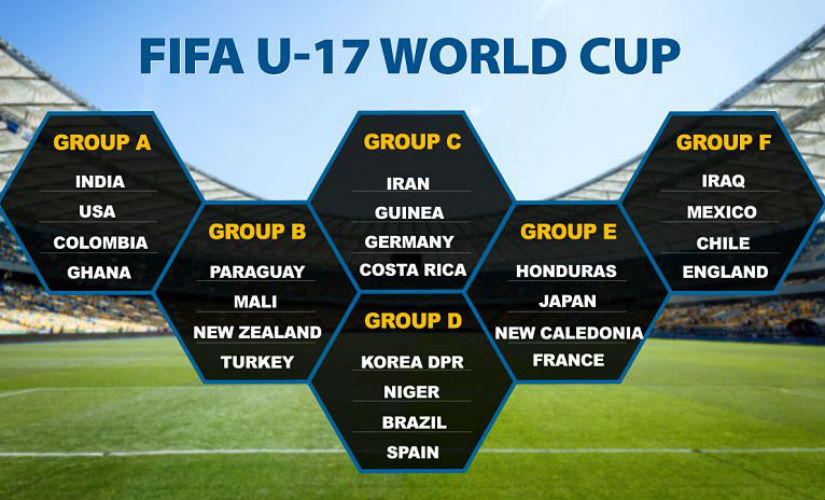 FIFA under 17 2017: #Footballtakesover.