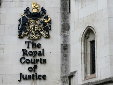 File image of The Royal Court of Justice in London. Reuters
