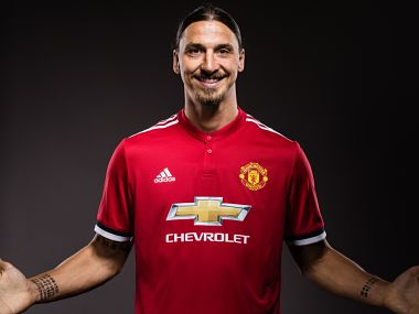 Zlatan Ibrahimovic has re-signed a one-year deal with Manchester United. Image courtesy: Twitter @ManUtd