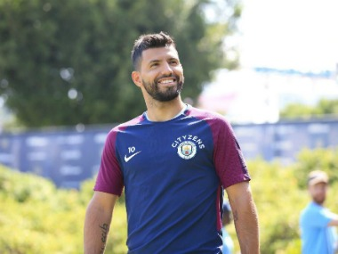 Segio Aguero dropped to bench by Manchester City. Image Courtesy: Twitter @aguerosergiokun