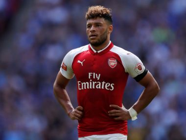 Alex-Oxlade Chamberlain rejected a lucrative contract extension offer from Arsenal last week. AFP