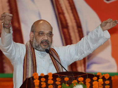 File image of BJP chief Amit Shah. PTI