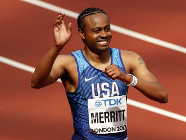 Aries Merritt could provide the fairytale that the championships need after Justin Gatlin denied Usain Bolt his golden farewell in the 100m. AP