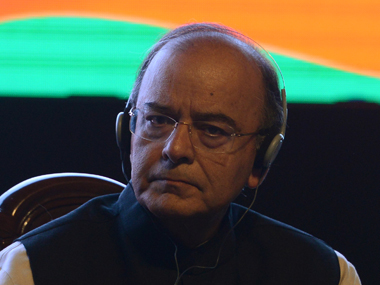 File image of Arun Jaitley. AFP