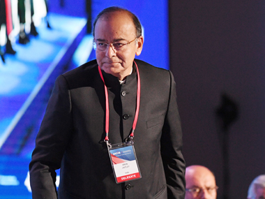 File image of Finance Minister Arun Jaitley. AP.