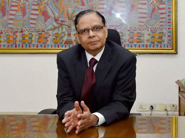 New Delhi: Noted economist Arvind Panagariya at NITI Aayog after assuming office as its first Vice-Chairman in New Delhi on Tuesday. PTI Photo by Kamal Singh(PTI1_13_2015_000044B)