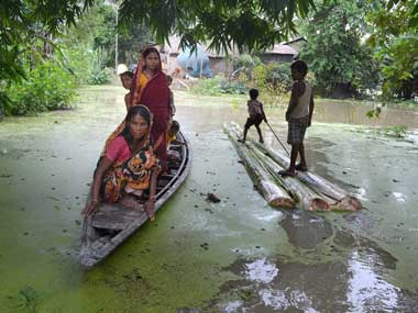 The third wave of the devastating floods has claimed 67 lives so far. PTI