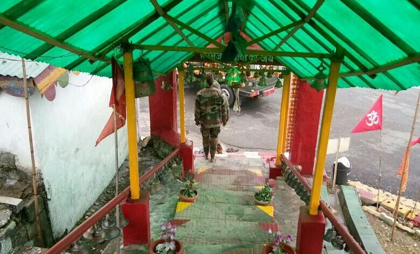 Indian soldiers believe that Bab Harbhajan will warn them at least three days before Chinese attack. Firstpost/ Manoj Kumar
