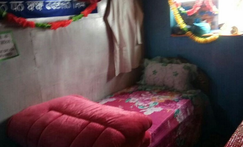 The Baba follows all the customary rituals followed by any living soldier. His bed is laid out in the bunker built specially for him inside the shrine. Firstpost/ Manoj Kumar