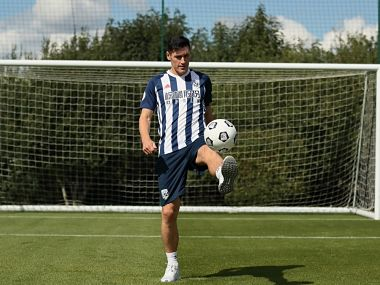 West Browmich Albion have signed Gareth Barry from Everton on a four-year deal. Image courtesy: Twitter @WBA