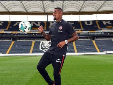 Kevin-Prince Boateng makes his return to Bundesliga by signing with Eintracht Frankfurt.  Image Courtesy: Twitter @KPBofficial