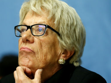 File image of Carla del Ponte. Reuters