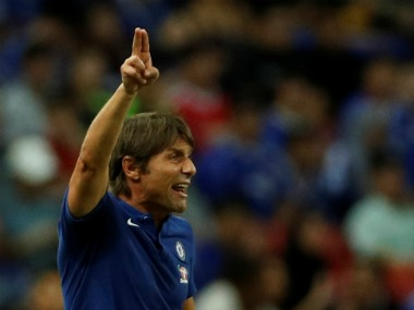 File photo of Chelsea manager Antonio Conte. Reuters