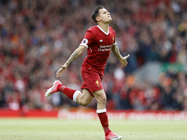 File image of Philippe Coutinho. Reuters