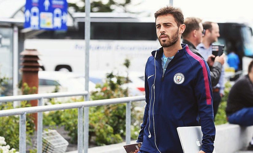 Bernardo Silva was signed from AS Monaco. Twitter/@BernardoCSilva