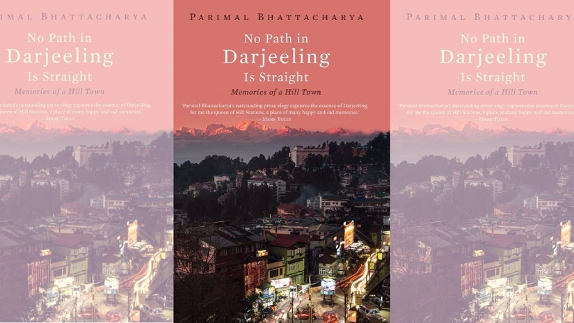 Cover of No Path in Darjeeling is Straight