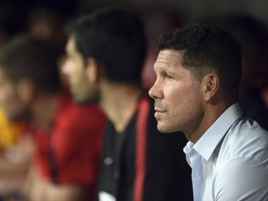 File image of Diego Simeone. AP