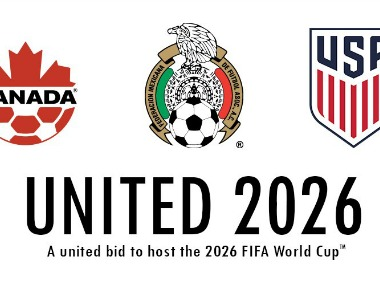 USA, Mexico and Canada preparing a joint bid to host FIFA 2026 World Cup. Twitter/@united2026