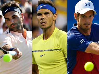 Roger Federer, Rafael Nadal and Andy Murray all have a shot at World No 1 at the US Open. Reuters