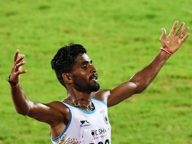 Govindam Lakshmanan registered his personal best timing at the IAAF WOrld Championship in London. AFP