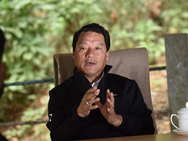 File image of Bimal Gurung. Getty images