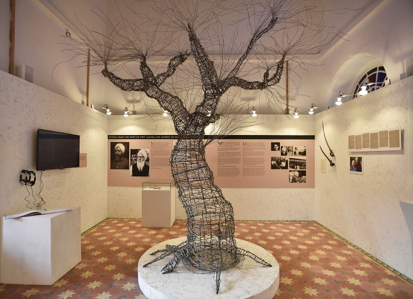 AMRITSAR, INDIA - OCTOBER 24: A view of newly inaugurated Partition Museum on October 24, 2016 in Amritsar, India. A newly opened Partition Museum in Amritsar revisits the trauma of displacement, with optimism for a better future. (Photo by Sanjeev Verma/Hindustan Times via Getty Images)