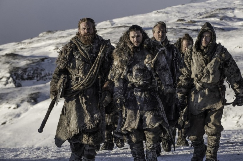 The Fellowship of the King. Still from Game of Thrones season 7 episode 6, 'Beyond the Wall'. Image via HBO