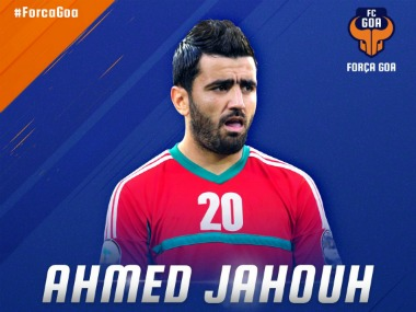 Ahmed Jahouh will play for FC Goa. Image Courtesy: twitter.com/@FCGoaOfficial