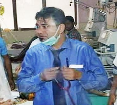 File image of Dr Kafeel Ahmed Khan. Image courtesy: News18