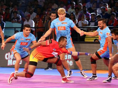 Gujarat Fortunegiants remained unbeaten in their home leg at Ahmedabad. Image Courtesy: PKL