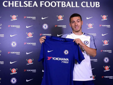 Kylian Hazard signed for Chelsea on Tuesday. Twitter: @ChelseaFC