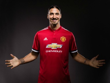 Zlatan Ibrahimovic signed a one-year contract with Manchester United. Image Courtesy: Twitter @ManUtd