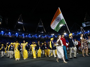 File image of the Indian contingent at the Rio Olympics 2016. Reuters