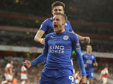 File image of Leicester City Jamie Vardy. AP