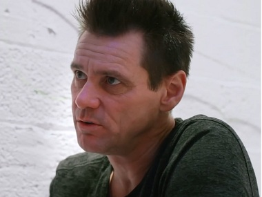 Jim Carrey in the documentary film, I Needed Colours. Screen grab from Vimeo.