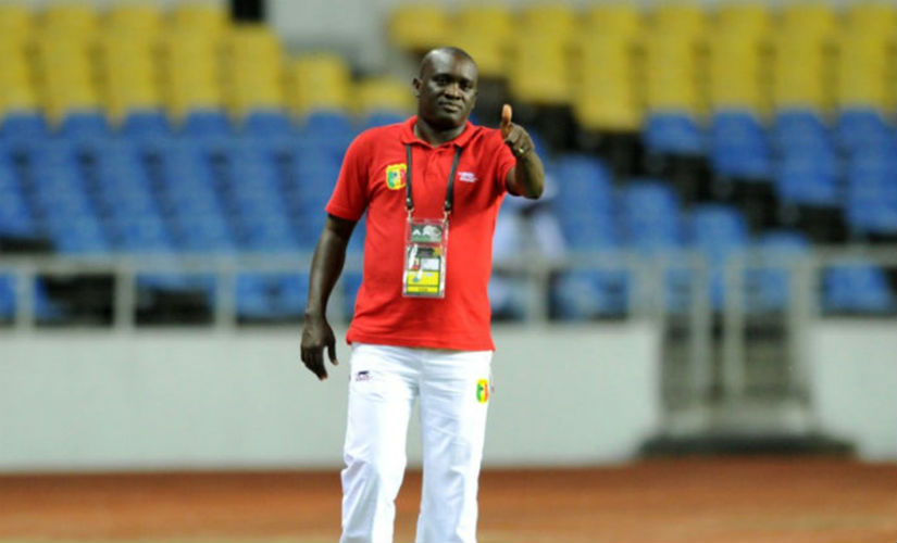 The U-17 head coach of the Mali national team, Jonas Komla. Credit: FIFA.com
