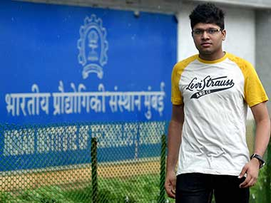 Kalpit Veerwal, who has made it to the Limca Book of Records for being the first-ever student to have scored 100 percent in the prestigious Joint Entrance Examination Mains. PTI