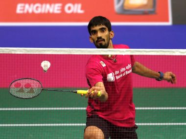 Badminton - Badminton World Championships - Glasgow, Britain - August 21, 2017 India's Kidambi Srikanth in action REUTERS/Russell Cheyne - RTS1CO8Q