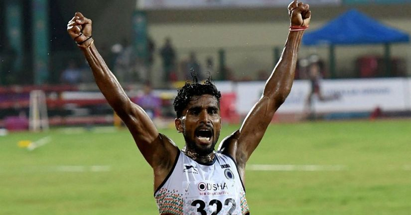 Govindan Lakshmanan ran his personal best but it was still not enough for him to qualify for the final round of the men's 5000m race in the World Athletics Championships. PTI