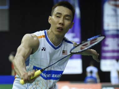 Lee Chong Wei's exit opens up door for competitors to go for the title. AFP