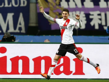 File image of Lucas Alario. Reuters
