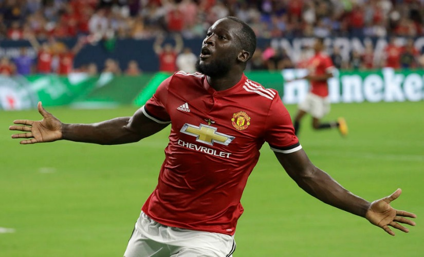 Manchester United signed Romelu Lukaku for £75 million. AP