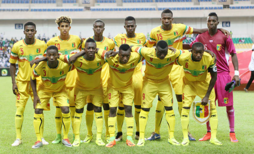 The U-17 national team of Mali. Credit: CAFOnline