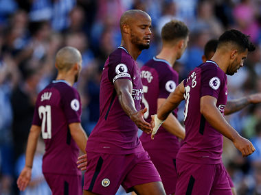 Manchester City would be hoping to take momentum from their win against Brighton and Hove Albion. Reuters