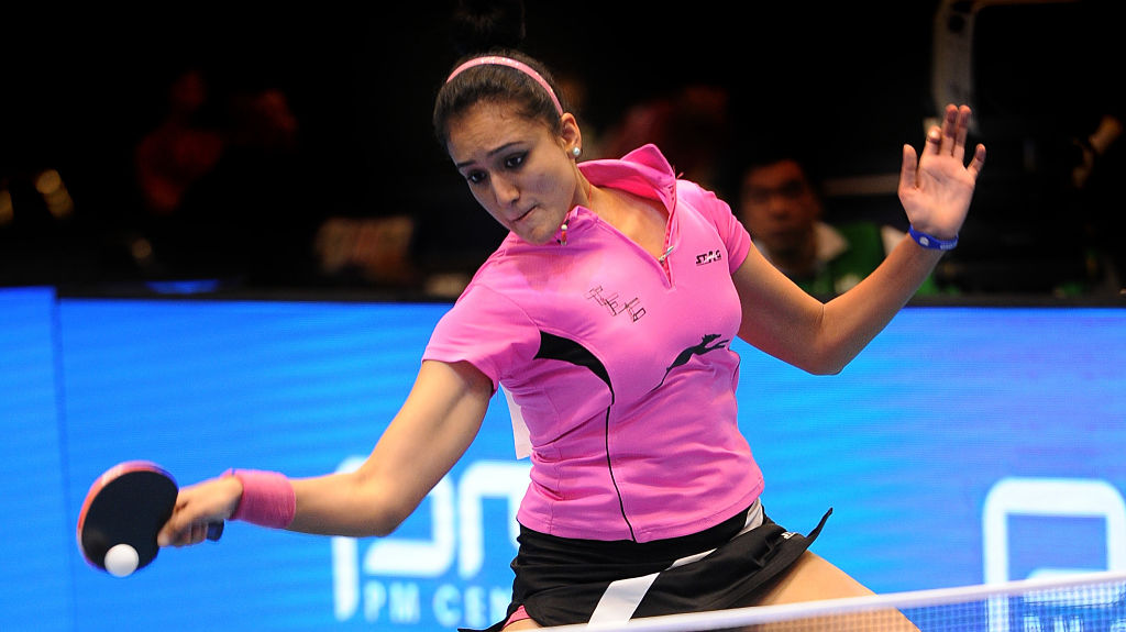 Manika Batra is India's highest ranked women's player in the world at 104. Getty